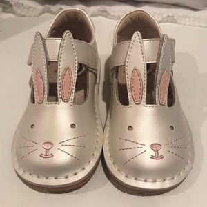 Livie and Luca  velcro Bunny Shoes